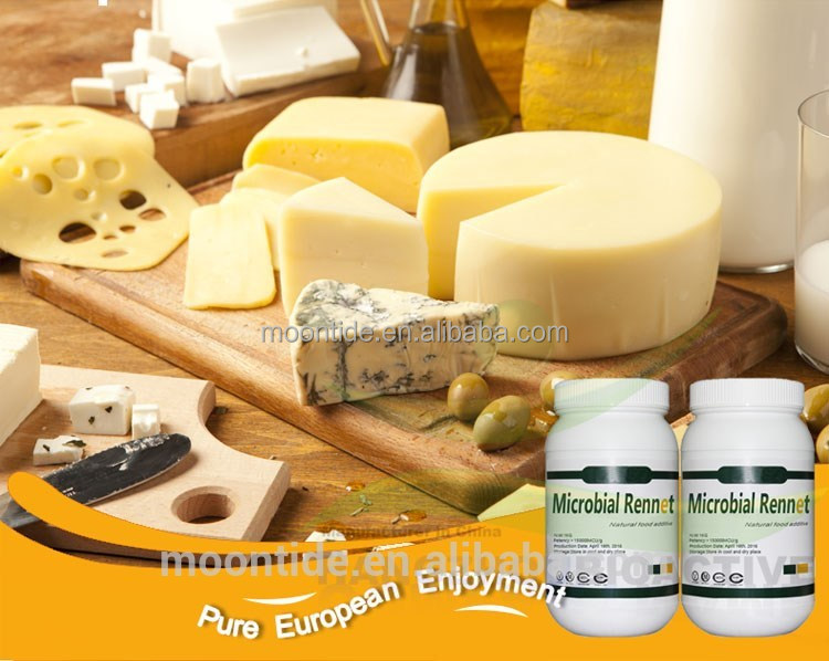 Cheese making chymosin and rennet powder
