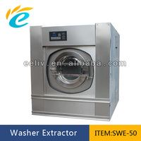 50kg industrial commercial full automatic clothes heavy duty laundry washing machine