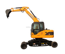 9 tons hydraulic wheel - crawler excavator X9 for sale