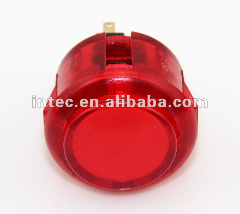 F0363 30mm plastic push button switch electric pushbutton switch Momentary red