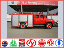 New model dongfeng 140 4*2 4ton water tanker fire truck with low fire fighting truck price