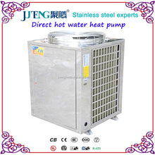 Instant heater Air source Stainless steel solar Juteng Air To Water Direct Hot Water Heat Pump 11kW High COP