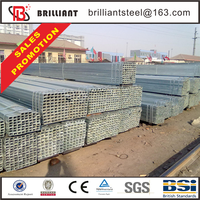 Tianjin square rectangular pipe ! pattern square tube 6m astm 1017 welded rectangular steel bute
