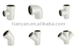 EXPANDING PVC DRAINAGE FITTINGS FOR WASTE WATER