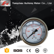 "good quality 2.5"" 60mm 63mm stainless steel bourdon tube pressure gauge manometer"