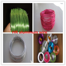 1mm/2mm/3mm wholesale craft anodized aluminum wire 39feet