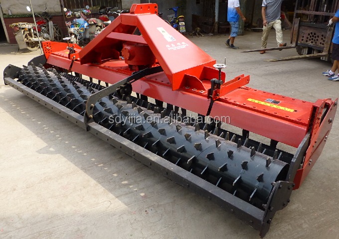 2015 China super quality heavy duty pasture power harrow for sale
