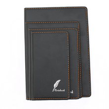 2018 a5 pu leather school diary design writing pad for business