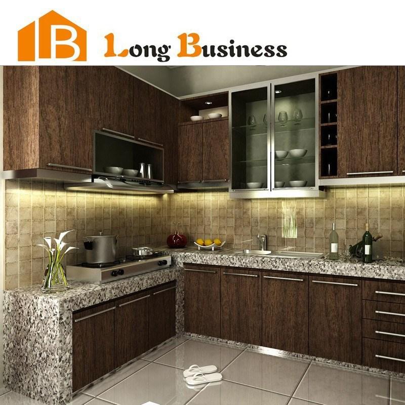 Lb jx1059 chapa de madera muebles de cocina modernos cocinas identificaci n del producto - Muebles de chapa ...