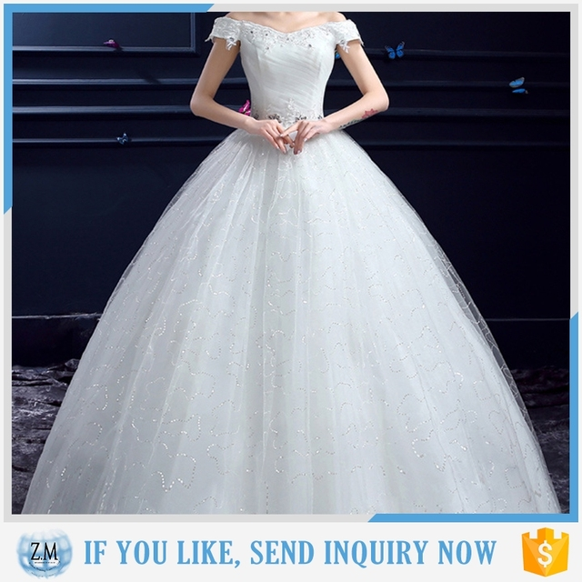 Top selling luxury wedding dress with high quality