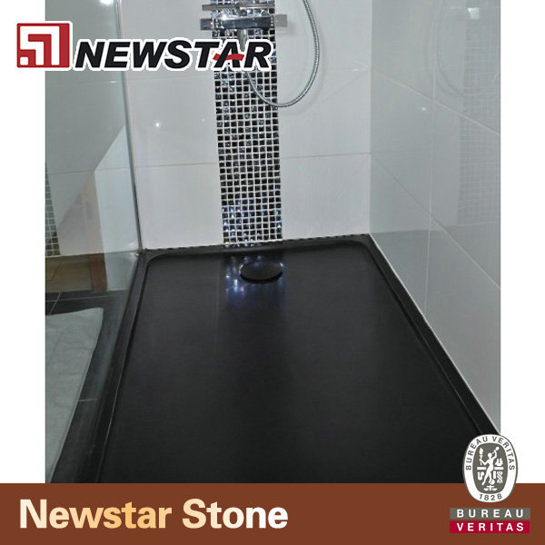 Flat Shower Pan Black Granite Shower Pan Granite Shower