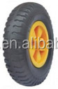 "pu foam wheels with plastic rim / pu foam wheel 13 inch / 16"" pu foam wheel"