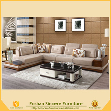Living room furniture chesterfield sofa with drawer, modern floor sofa