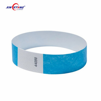 Shenzhen Manufacturer RFID Wristband Print ISO 15693 South Africa