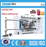 GSFQ1300 1. Hydraulic loading system terminal paper slitting machine