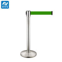 stainless steel queue stand/railway crossing barrier