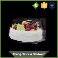 Custom Diecut Clear Mini Cupcake Box Guangzhou
