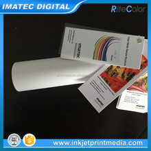 Wide Format Custom High Glossy RC Back Adhesive Photo Paper Roll 190gsm