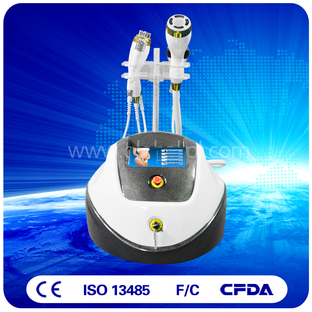 Powerful vacuum cavitation rf machine fat burner for stubborn fat removal