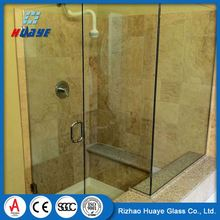 Top quality bath decorative shower glass screen