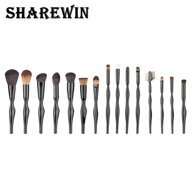 Most Fashion Curve Of The Human Body Powder Brush Makeup Set