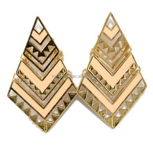 New 2016 latest gold earring designs, beautiful earring designs for women