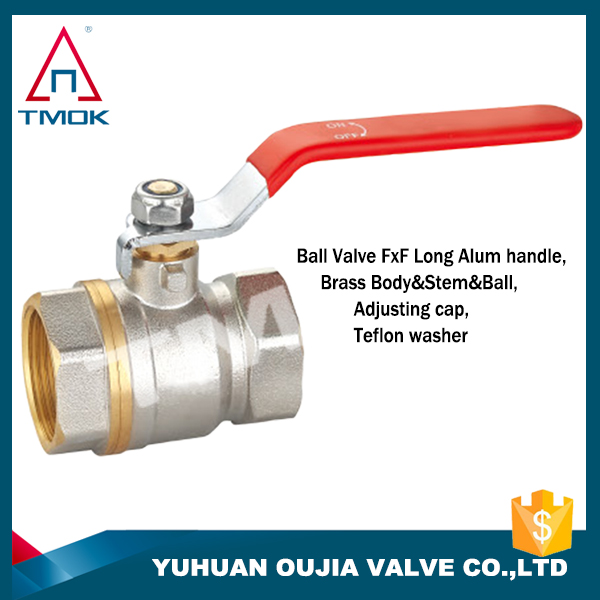 TOMK product sales lowest price with the best quality long stem brass ball valve