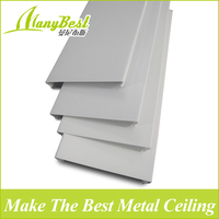 Environmental aluminum strip ceiling with pvdf coating
