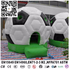 inflatable soccer football bouncer castle jumping house for kids