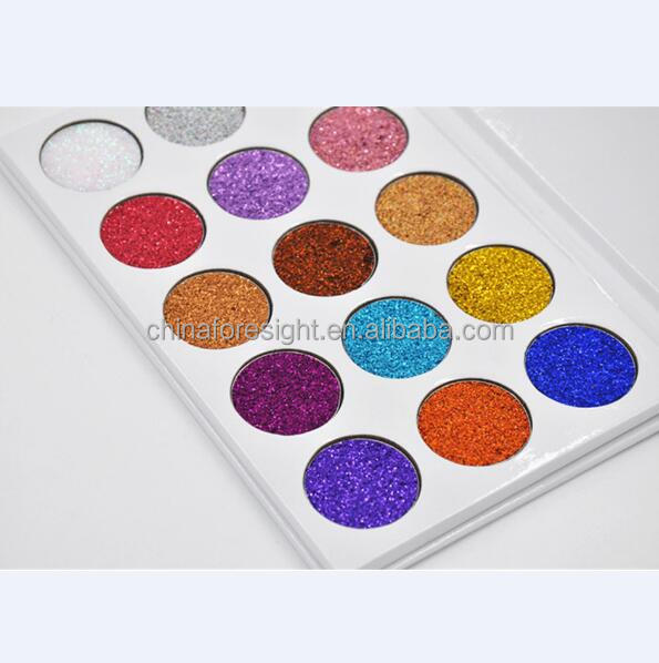 15color Cosmetics make your own brand best eyeshadows,latest eye shadows