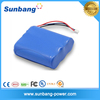 High capacity 18650 rechargeable 7500mah lithium battery pack 3.7v for phone tablet battery for alibaba China