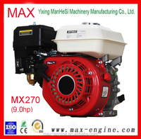 9.0hp OHV Small 4 Stroke Recoil Start Gasoline Engine 177f For Water Pump