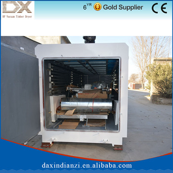 Hot sale vacuum Wood kiln dryer with high frequency