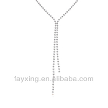11181 statement artificial jewellery sets ego ring clip necklace