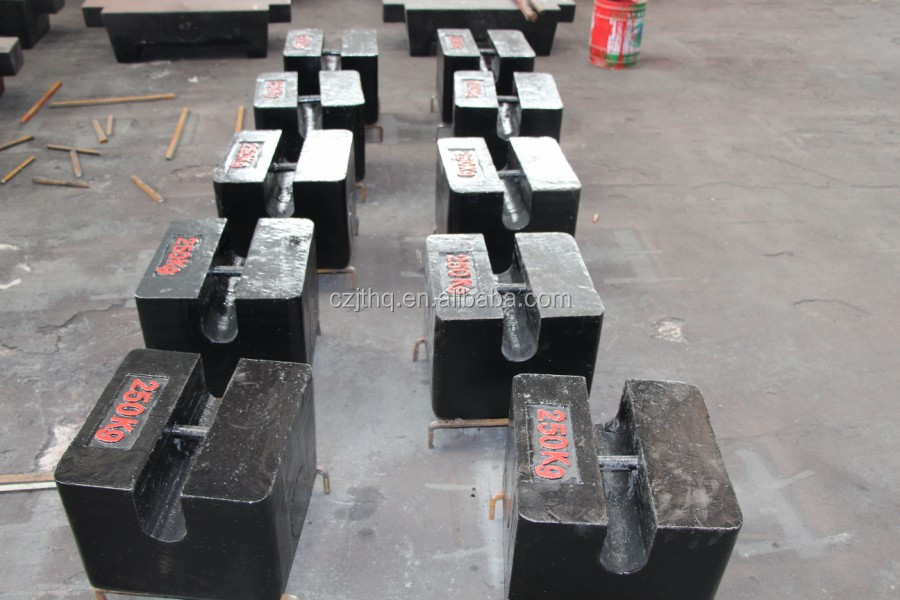 Kingtype cast iron 300-2000kg test weights