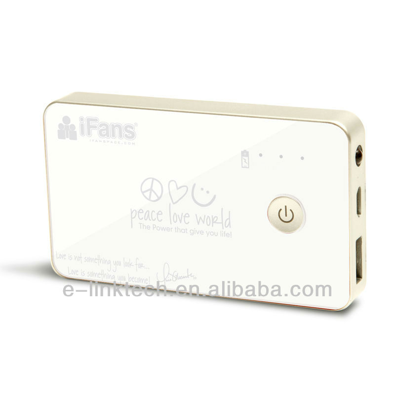 iFans 3500mAh portable power bank