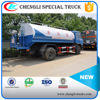 Dongfeng 6 Wheeler 4*2 RHD 190hp 14cbm Watering Truck Water Delivery Truck
