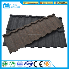 Good price colorful classic stone coated metal roofing tile