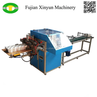 Semi auto toilet paper and kitchen towel packing machine prices