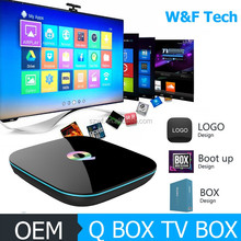 Hot selling wifi 2.0/ 5.0ghz S905 Android 5.1 Smart Tv Box 2g/16g H.265 4K Kodi 16.0 Quad Core TV Box with great price