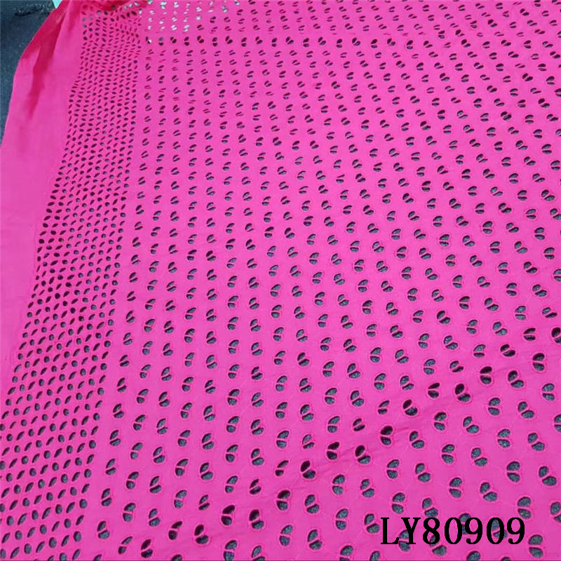 LY80909 New design <strong>Holes</strong> Handcut organza Lace African Swiss lace voile <strong>fabric</strong> high quality 5 yards/PC for women cloth