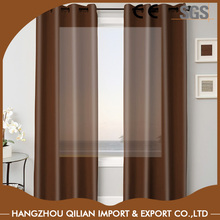 Chinese Supplier Ready Made Faux Silk Solid Faux Silk Curtain