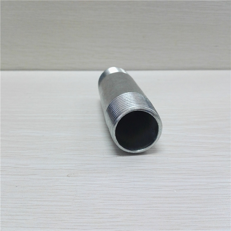 ASTM A53 SCH 40 HOT DIPPED GALVANIZED NPT threaded pipe nipple