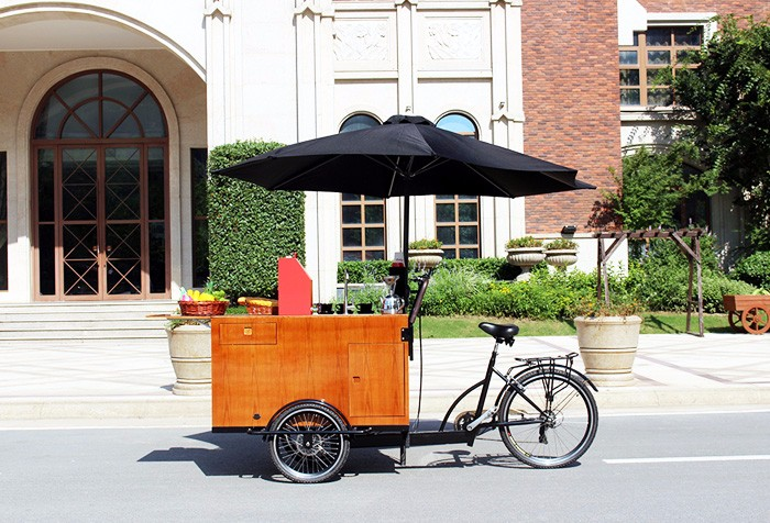 cafe bike/commercial coffee bike/coffee cart