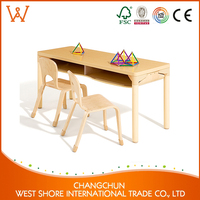 High Quality Food Grade montessori childrens furniture Adjustable