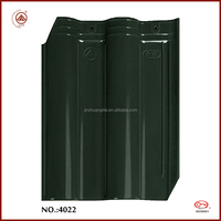 High sale new material dark green vitrified roofing tile