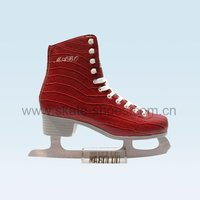 Red lady ice Skate M-0208A