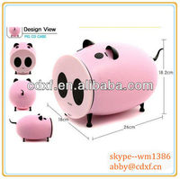 pink pig CD/DVD case