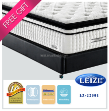 Euro design super soft deep sleep dreamland bed mattress 15 inch thick