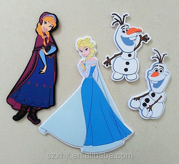 frozen foam elements for wall decor